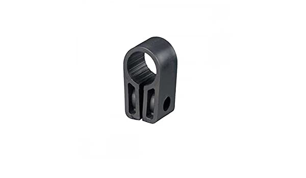 NYLON CC12 Cable Cleats Black