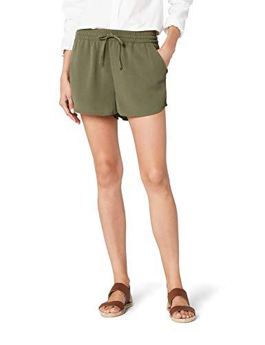ONLY NOS Damen Shorts onlTURNER WVN NOOS, Grün (Kalamata), 38