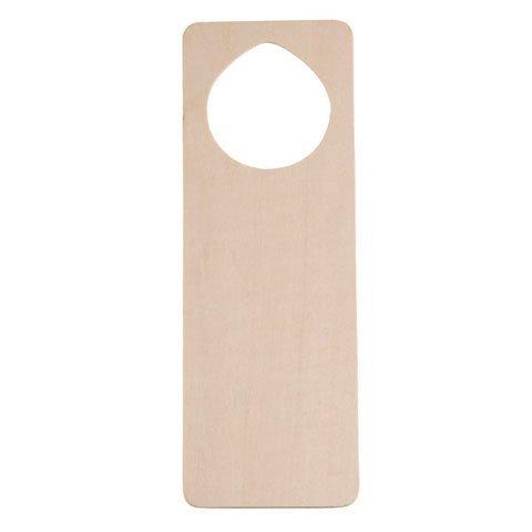 Bulk Buy: Darice DIY Crafts Door Knob Hanger Wood Unfinished 9.5 x 9.5 inches (6-Pack) 9147-39 by Darice Bulk Buy