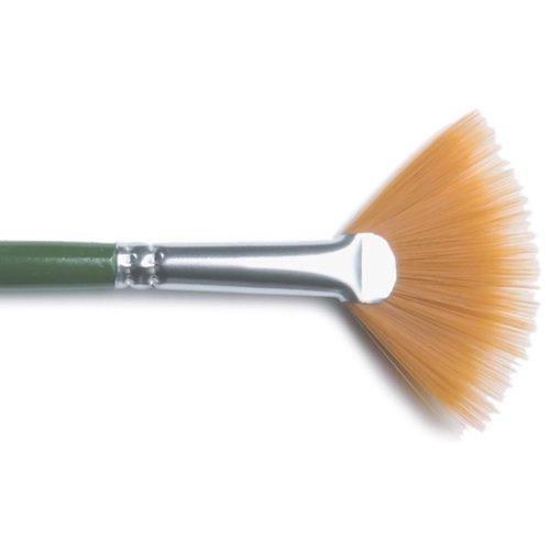 Plaid:Craft Nylon One Stroke brush-fan Gr. 4 (Plaid-craft Supplies)