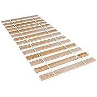 Amazinggirl Lattenrost 90x200cm Rollrost - Rolllattenrost Tannenholz Erwachsenen und Kinder-Bett unverstellbar (90x200cm…