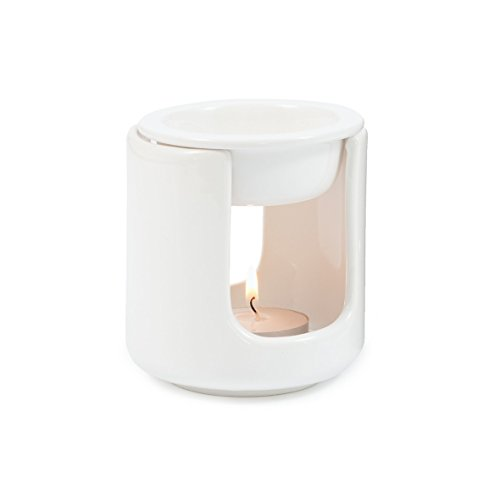 Pajoma 11495  Duftlampe, Keramik, weiß, 12 x 12 x 12.5 cm