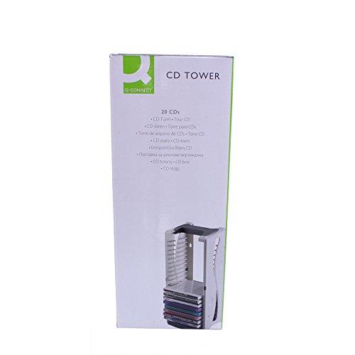 Q-Connect KF04512 CD-Turm