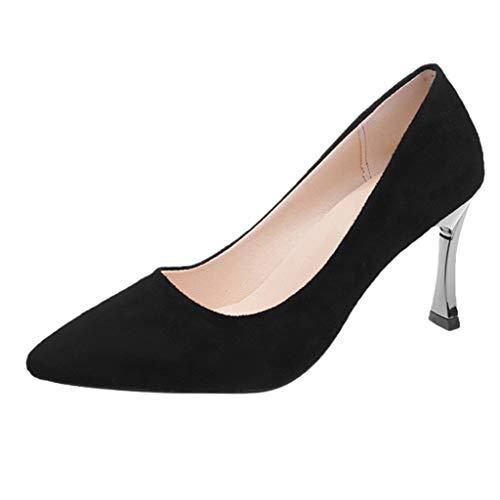 TUDUZ Zapatos De Tacón Alto Mujer Calzado De Trabajo