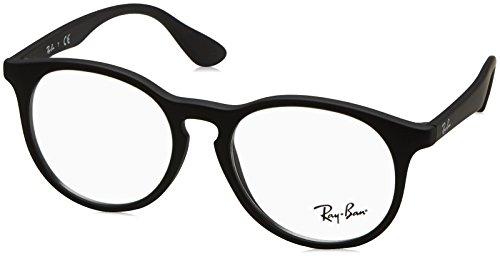 Ray-Ban Unisex-Kinder 0RY 1554 3615 48 Brillengestelle, Schwarz (Rubber Black),