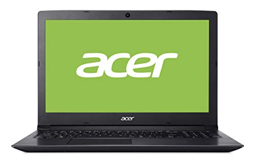 Acer Aspire 3 | A315-53G-51GB - Ordenador portátil 15.6' HD LED (Intel Core i5-8250U, 8 GB de RAM, 256 GB SSD, Nvidia MX130 2GB, Windows 10 Home) Negro - Teclado QWERTY Español