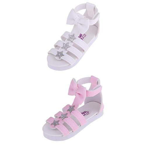 Unbekannt 1/3 BJD Dolll Plats Sommer Schuhe Sandalen Für DOD AOD ALS Puppen ACCS 2 Pairs