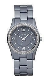 DKNY NY8311–Wristwatch women's, Strap Aluminium Grey