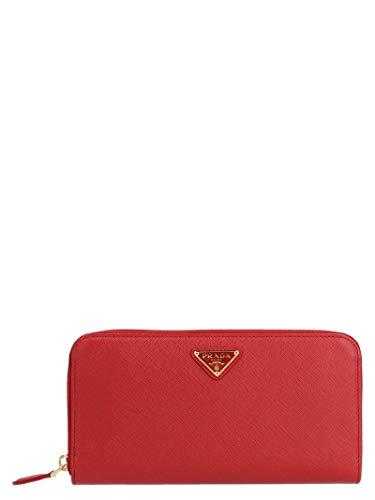Prada luxury fashion donna 1ml506qhhf068z rosso portafoglio | autunno inverno 19