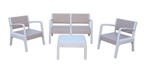 Shaf Miami - Conjunto muebles jardín/terraza