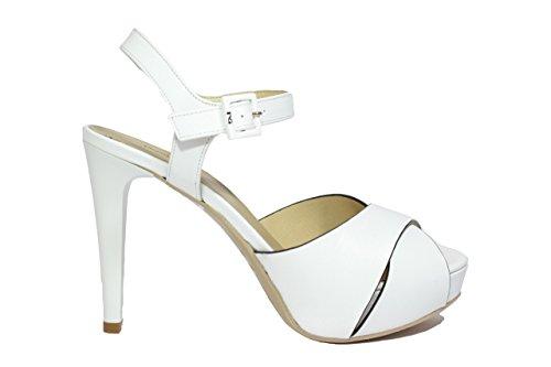 Nero Giardini Sandali scarpe donna bianco 5790 elegante P615790DE 37