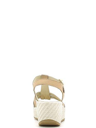 Enval 5984 Sandalo zeppa Donna Taupe