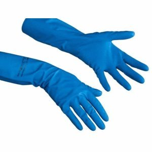 Vileda Handschuhe Comfort Der Komfortable blau Größe L