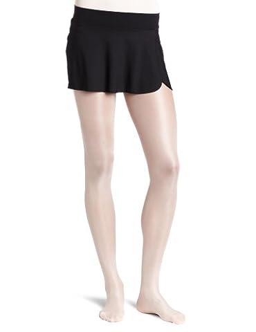 Danskin Women's Wrap Skirt, Black, Small