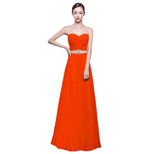 Vimans -  Vestito  - linea ad a - Donna Orange
