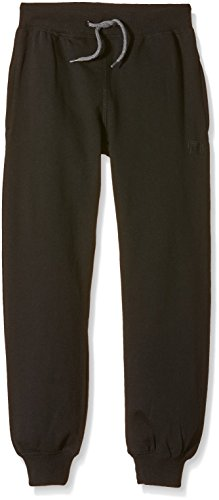 NAME IT Jungen Hose SWEAT KIDS PANT BRUSHED R NOOS, Gr. 116, Schwarz