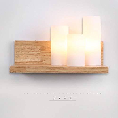 Mao&Long Land Wandlampen & Wandlampen Holz/Bambus Wandleuchte 110-240V 60W -