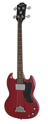 EPIPHONE EB 0 BASS   BAJO ELECTRICO  COLOR CHERRY