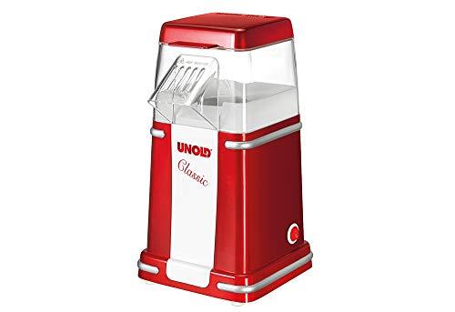 UNOLD Popcorn-Maschinen Popcornmaker Classic, weiß-rot