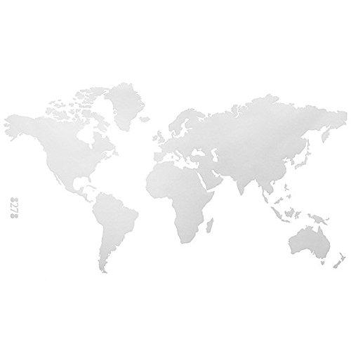 Aliciashouse Mundo PVC grande mapa extraíble vinilo
