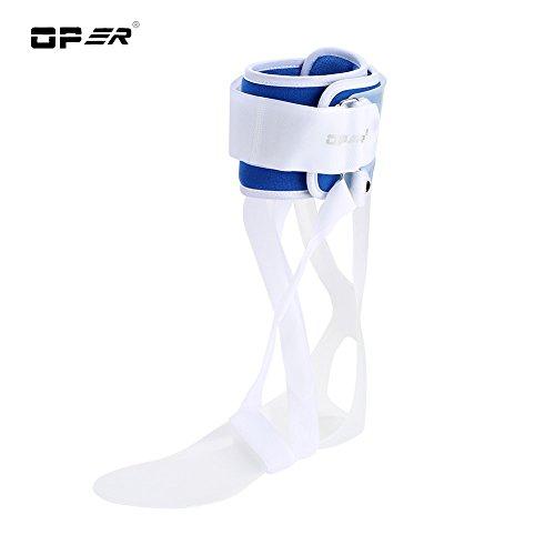 Knöchel Unterstützung, Fuß Tropfen Orthese Knöchel Tropfen Haltungskorrektur Klammer Orthese Schiene, FDA genehmigt(Left M) -