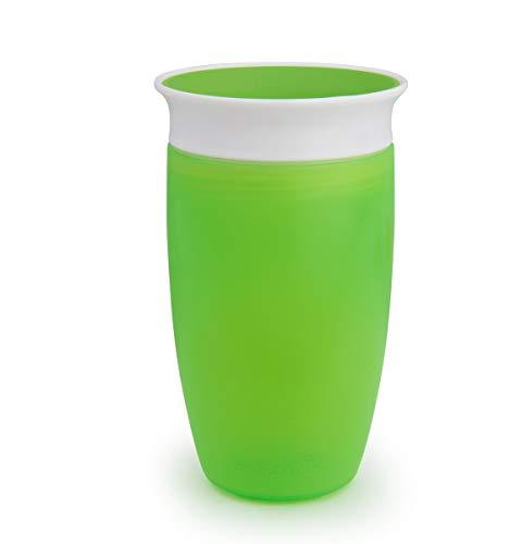 Munchkin Miracle 360ᵒ Trinkbecher, grün, 1er-Pack (296 ml)