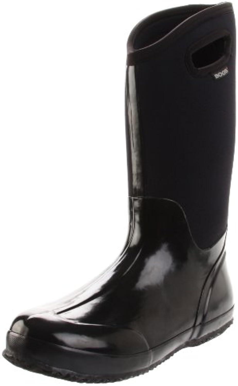 Bogs Classic High Handle Donna Tessile Stivale di Gomma, Gomma, Gomma, nero, 43 | Di Qualità Dei Prodotti  | Sig/Sig Ra Scarpa  3cc439