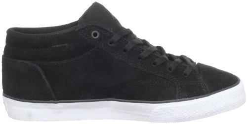 Emerica HSU 2 6301000018 Unisex - Kinder Sportschuhe - Skateboarding Schwarz (Black/White/Gum)