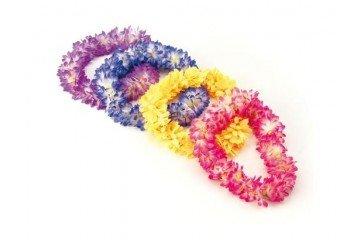 Preisvergleich Produktbild Bottari 29407 Deko-Kette Hawaii mit Rosanen Blumen, 1 Teil