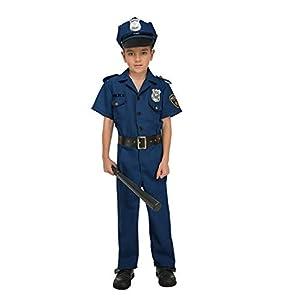 My Other Me Me-204238 Disfraz de policía para niño, 5-6 años (Viving Costumes 204238