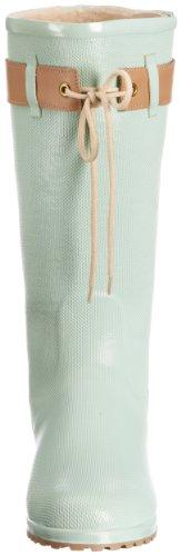 Novesta Edit, Bottes de Pluie femme Turquoise - Mint