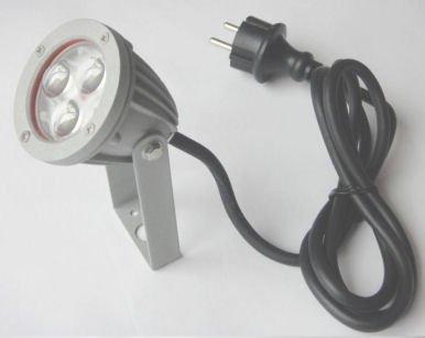 LED Gartenstrahler Außenstrahler 3W + Erdspieß warmweiß von 123Trading auf Lampenhans.de