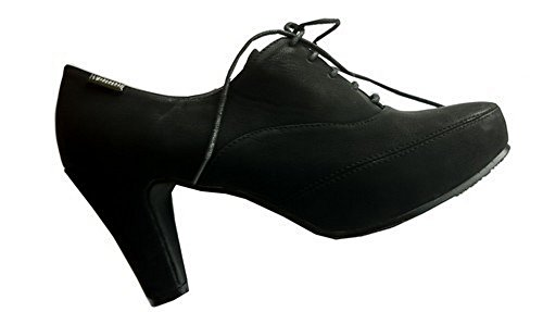 Oceanofshoes - Derby Femme Noir