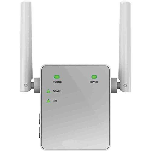 NETGEAR Répéteur Wifi EX3700, Amplificateur Wifi AC750, wifi extender , wifi booster, supprimez les Zones mortes, jusqu'à 90m2 et 15 appareils, boost et répète le signal jusqu'à 750 Mbps, compact