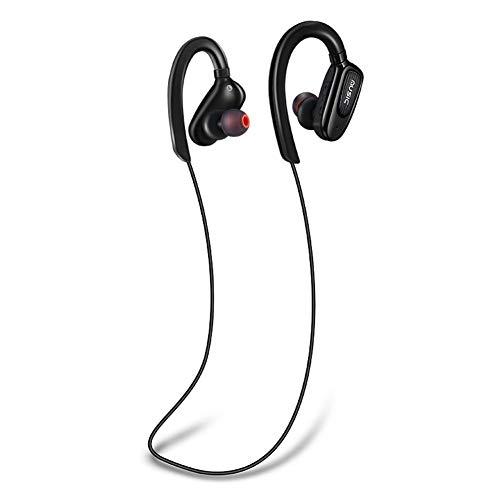 S5 Auriculares inalámbricos Bluetooth con Banda para el Cuello y micrófono (Negro)