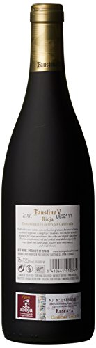 faustino v V Tinto Reserva Cuvée 2012/2013 trocken (3 x 0.75 l)