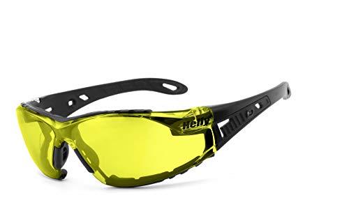 Helly® - No.1 Bikereyes®   H-FLEX®- unzerbrechlich, beschlagfrei, nachtsicht HLT® Kunststoff-Sicherheitsglas nach DIN EN 166   Bikerbrille, Motorradbrille, Multifunktionsbrille   Brillengestell:.