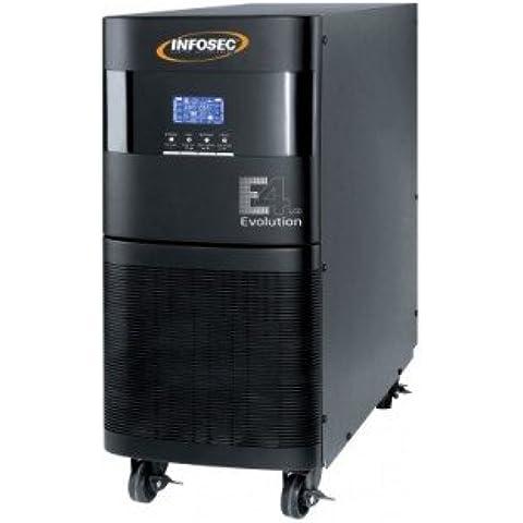Ondulatore on line doppia conversione INFOSEC E4 LCD EVO-6000 Va 5400W