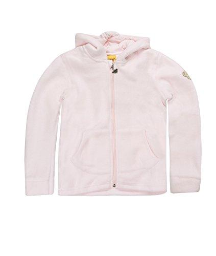 Steiff Unisex - Baby Sweatjacke 0006837, Gr. 104, Rosa (bareley pink)