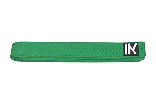 Cintura karate judo taekwondo | tutti i colori e dimensioni (verde, 320cm)