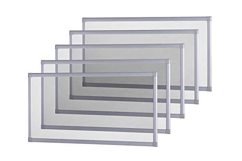 empasa 5er Set Kellerschacht Lichtschacht Abdeckung Gitterrost Lichtschachtabdeckung Kellerschachtabdeckung 80 x 150 cm individuell kürzbar