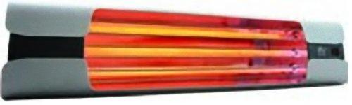 Vortice Wand-Heizung mit Zugschnur, Infrarot, 600/1200/1800 W, Thermologika Design, 1 Stück, licht grau, 70003