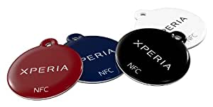 Sony Xperia Full Set of 4 NFC Smart Tags for Xperia S, Xperia U & Xperia Sola