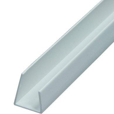40 Stab je 2,5m Länge = 100m Einfassprofil (ungleichschenklich) für 12,5mm Standard- Gipskartonplatten L-Profil Trockenbauprofil ungleichschenklig