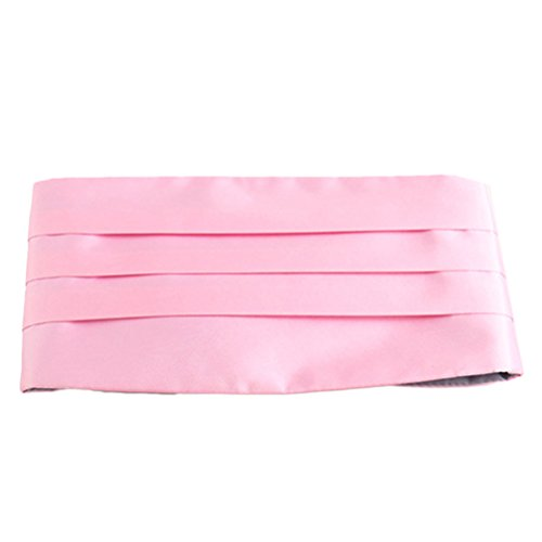 Zhhlaixing Accessoires High Quality Mens Suit Girdle Various Colors for You To Choose pink