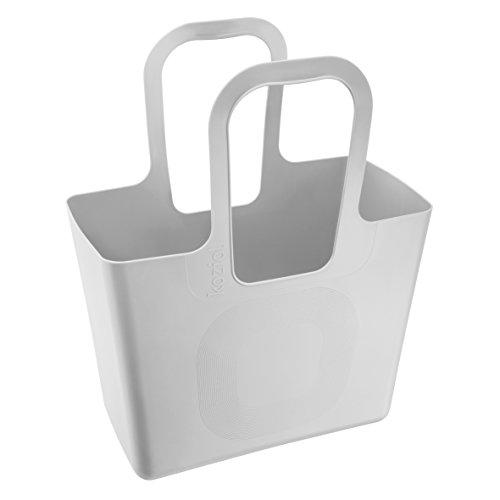 Preisvergleich Produktbild koziol Tasche XL,  Kunststoff,  cool grey,  21, 5 x 44 x 54 cm