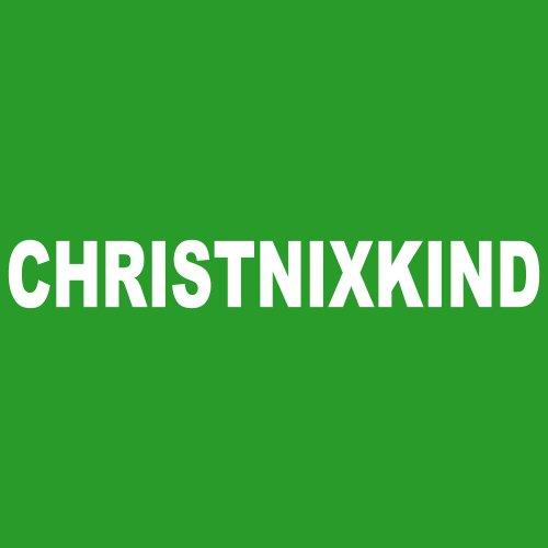 ::: CHRISTNIXKIND MEN ::: T-Shirt Herren Irish Green mit weißem Aufdruck