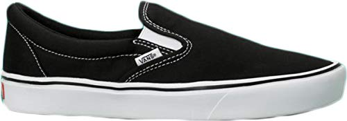 Vans ComfyCush Slip-On Schuhe (Classic), Black/ True White, 42 EU - White Schuhe Herren Slip-on Vans