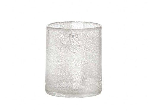 Vase Dutz CYLINDER clear bubbles (H19 D15)