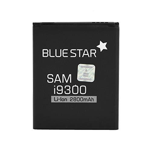 Blue Star Premium - Batteria da 2800 mAh Li-Ion de Capacità Carica Veloce 2.0 Compatibile Con il Samsung Galaxy S3